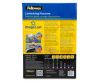 Fellowes A3 Glossy 80 Micron Laminating Pouch 100-Pack 2