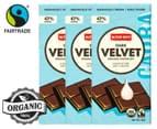 3 x Alter Eco Dark Velvet Organic Chocolate 80g 1
