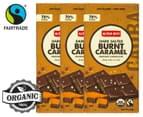 3 x Alter Eco Dark Salted Burnt Caramel Organic Chocolate 80g 1