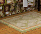 Freckles 100x70cm Safari Cotton Floor Rug - Chocolate 2