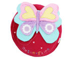 Freckles Flutterby Butterflies Round Shaped Cushion - Multi 1