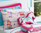 Freckles Fairground Horse Shaped Cushion - Multi 2
