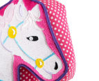Freckles Fairground Horse Shaped Cushion - Multi 4