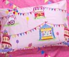 Freckles Fairground Double Bed Quilt Cover Set - Multi 4