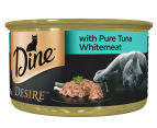 2 x Dine Desire w/ Pure Tuna Whitemeat 6pk 2