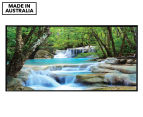 Soft Waterfalls 50x25cm Framed Wall Art 1
