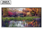 Stone Bridge In Central Park 50x25cm Framed Wall Art 1