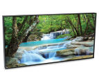 Soft Waterfalls 50x25cm Framed Wall Art 2