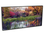 Stone Bridge In Central Park 50x25cm Framed Wall Art 2