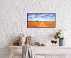 Outback Road 50x25cm Framed Wall Art 3