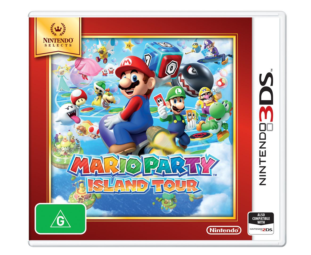 Nintendo  Ds Mario Party Island Tour Nintendo Selects