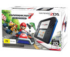 Nintendo 2DS Game Console + Mario Kart 7 (Pre-Installed) - Black/Blue 1