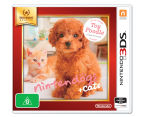 Nintendo 3DS Selects: Nintendogs + Cats - Toy Poodle Game 1