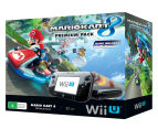 Nintendo Wii U 32GB Game Console + Mario Kart 8 (Pre-Installed) Game Pack - Black 2