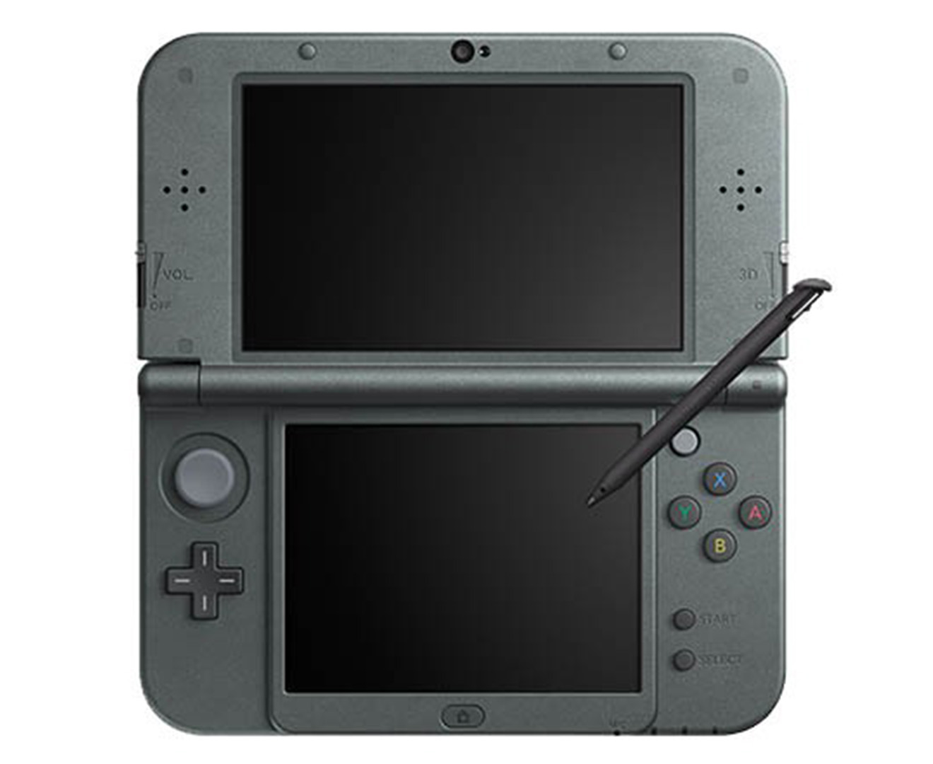 nintendo 3ds xl game console metallic black scoopon. Black Bedroom Furniture Sets. Home Design Ideas