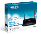 TP-Link AC750 Wireless Dual Band ADSL2+ Modem Router Archer D20 - Black 4