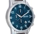 Hugo Boss Men's 44mm Aeroliner Watch - Silver 2