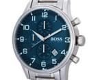 Hugo Boss Men's 44mm Aeroliner Watch - Silver 3