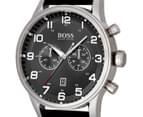 Hugo Boss Men's 44mm Aeroliner Watch - Black 3
