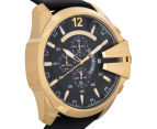 Diesel Men's 59mm Mega Chief Chronograph Watch - Black/Gold 2