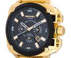 Diesel Men's 57mm BAMF Chonograph Watch - Gold/Black 3