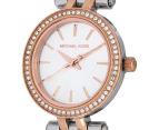Michael Kors Women's 26mm Petite Darci Watch - Silver/Rose Gold 3