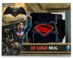 Batman V Superman 3D Logo Mug - Dark Blue 6