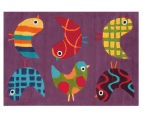 Asiatic Hand Tufted 160x110cm Birds Rug - Multi 2