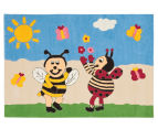 Asiatic Hand Tufted 160x110cm Bees Rug - Multi 2
