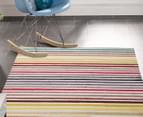 Antares 290x200cm Bohemian Rug - Pastel Stripe 2