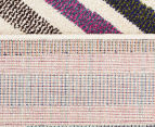 Antares 290x200cm Bohemian Rug - Pastel Stripe 6