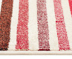 Antares 330x240cm Bohemian Rug - Pastel Stripe 4