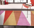 Desire 320x230cm Board Game Rug - Pink 2