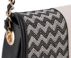 Kardashian Kollection Wave Of Emotion Crossbody Bag - Black/Beige 5