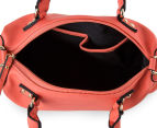 Kardashian Kollection Cheque Past Handbag - Mandarin 6