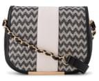 Kardashian Kollection Wave Of Emotion Crossbody Bag - Black/Beige 1
