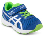 ASICS Toddler GT-1000 5 TS Shoe - Blue/White/Green Gecko 2