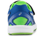 ASICS Toddler GT-1000 5 TS Shoe - Blue/White/Green Gecko 4