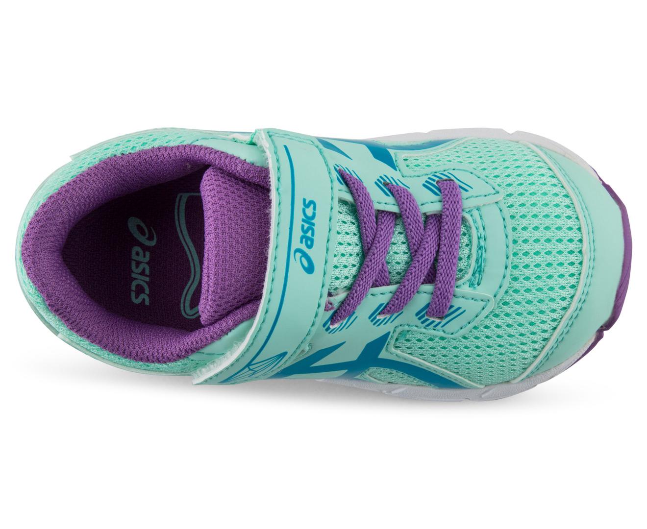 Asics Toddler Gt 1000 5 Ts Shoe Mint Blue Jewel Orchid
