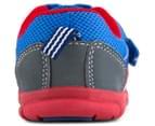 Clarks Kids' Hugo Shoe - Blue/Red 4