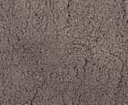 3 x Monroe 60cm Super Soft Microfibre Shag Round Rug - Beige 2