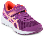 ASICS Pre-School Kids' GEL-Zaraca 5 Shoe - Orchid/Flash Coral/White 2