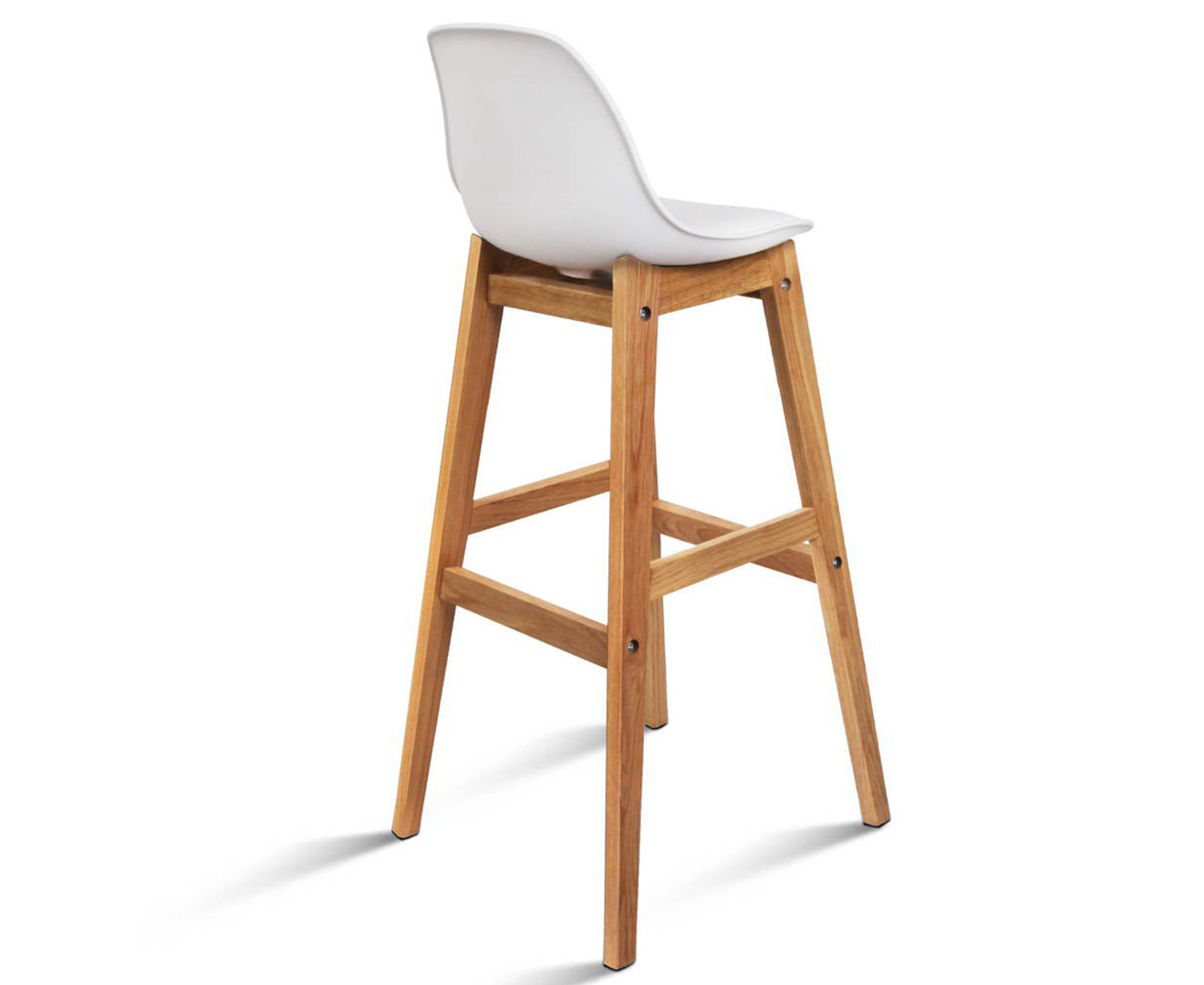 Scoopon Shopping Set Of 2 Eames High Back Bar Stools