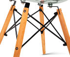 Set of 4 Eames Eiffel Dining Chairs - Transparent 6