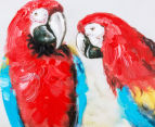 Parrots on Branch 70x70cm Oil on Canvas Wall Art 4