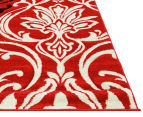 Iconic Modern 290 x 200cm Rug - Red/Cream/Black 3