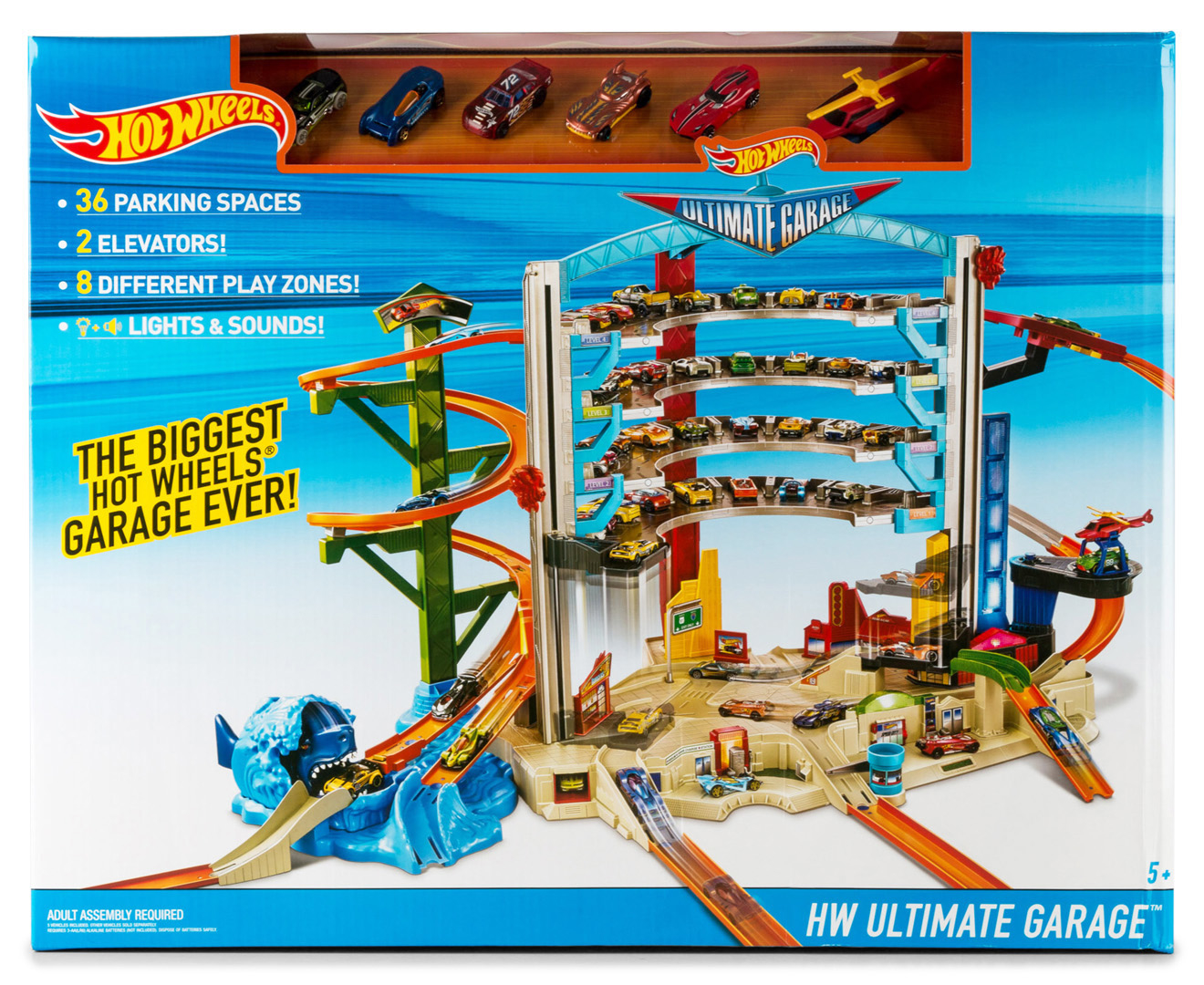 Hot Wheels Ultimate Garage Set