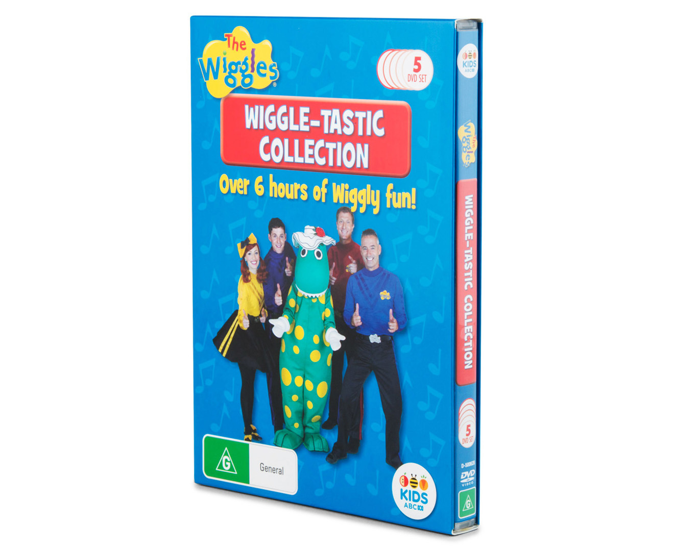 The Wiggles Wiggle Tastic Collection 5 Dvd Set Mumgo Com Au