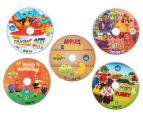 The Wiggles Wiggle-Tastic Collection 5-DVD Set 4
