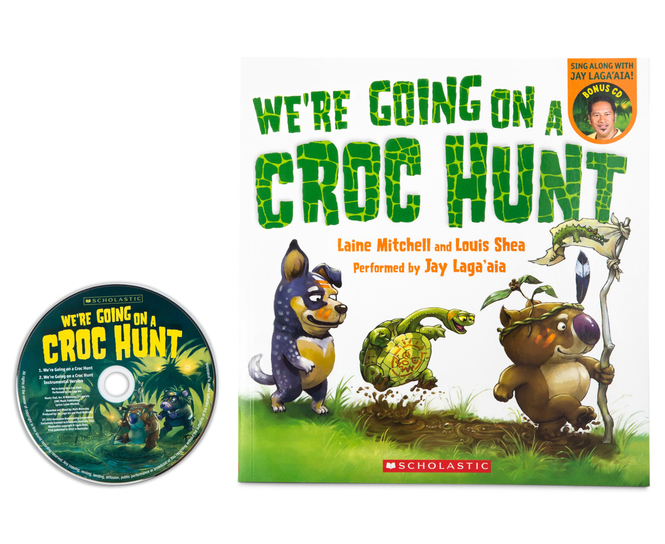 We Re Going On A Croc Hunt Book W Audio Cd Catch Com Au